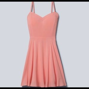 Talula Aritzia Lipinski Pink Dress